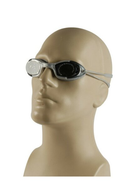 Swim Glasses (2540) 2551-4 Smoke / Silver / Silver DNZGOZDNP033