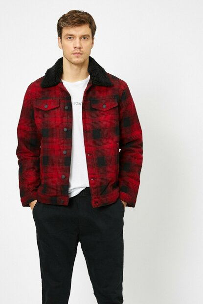 Men's Red Coat 0KAM21282LW