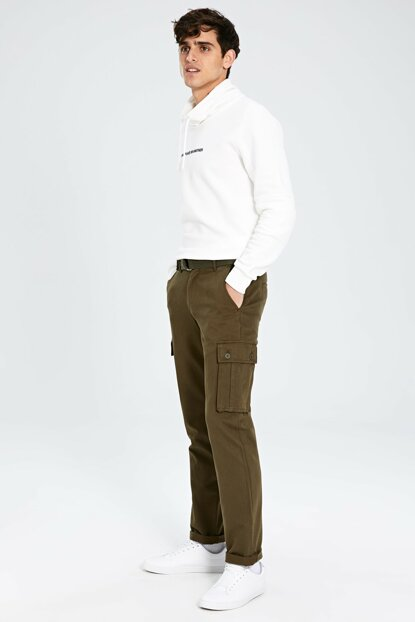 Men's Khaki Pants 9WK157Z8