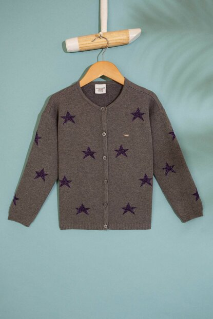 Gray Girl Child Sweater Cardigan G084SZ0TH.000.817720