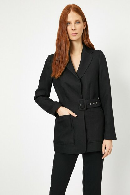 Women's Black Jacket 0KAK52193UW