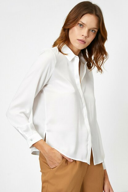 Women's Ecru Shirt 0KAK68366PW