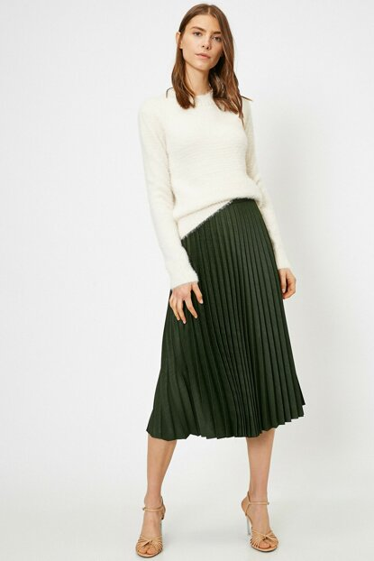 Women's Green Skirt 0KAK72566UW