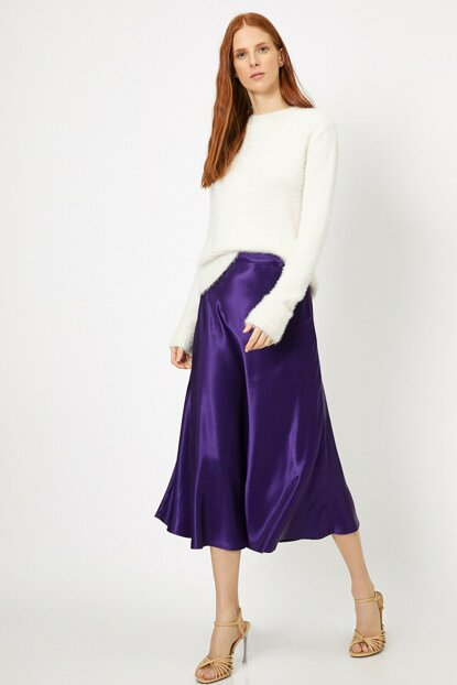Women's Purple Skirt 0KAK72480UW