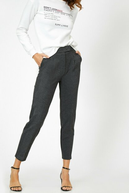 Women's Gray Pants 0KAK42151UW