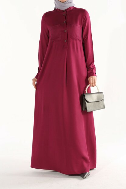 Women's Plum Dress 2306