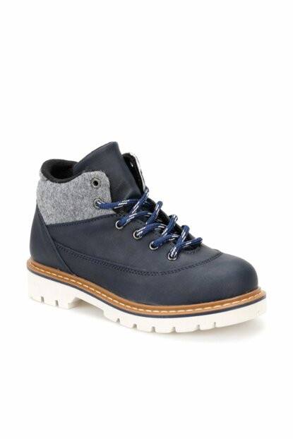 Navy Blue Boy Boots & Booties 000000000100339143