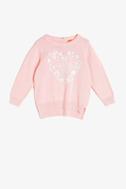 Girls' Printed Pullover 0KMG97299HT