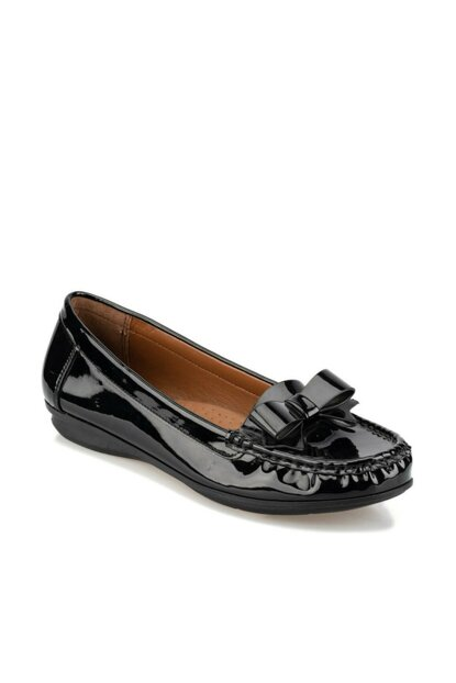 Black Women's Loafer Shoes 92.156009.Z