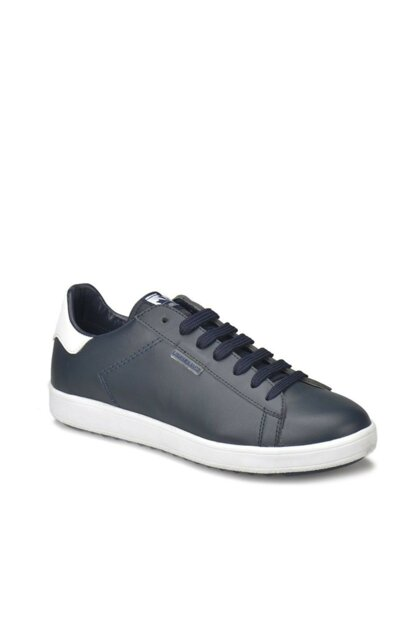 Genuine Leather Navy Blue Men's Shoes 000000000100330424