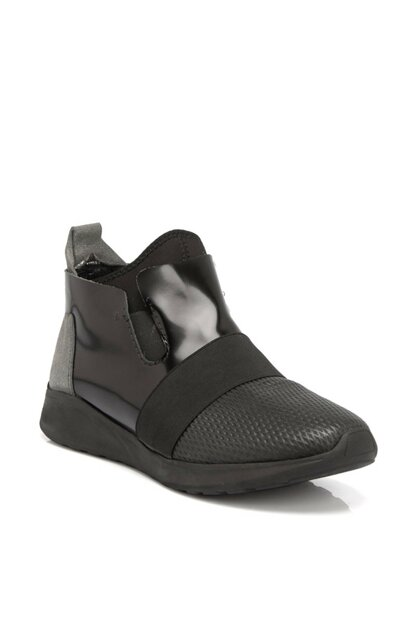 Gray-Honeycomb - Black-matte classic men's shoes E18S1Ay54041 E18S1AY54041