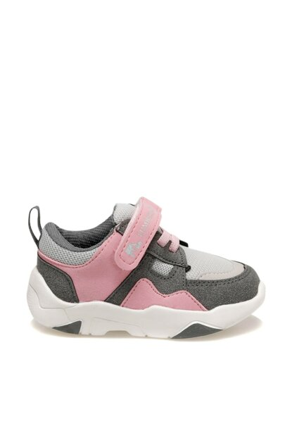 SENSE 9PR Dark Gray Girls' Walking Shoes
