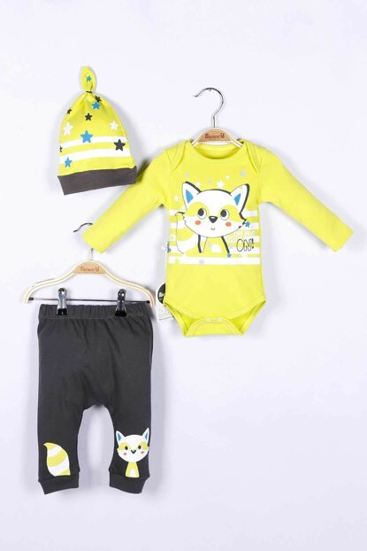 Baby Boy Badi Trousers Hat Set of 3 14711 MINI14711
