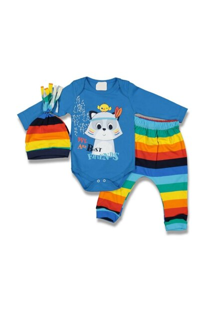 Fox Baby Boy Triple Set AF90288M