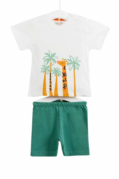 Green Baby Boy Bottom Top Set of 2 AZZ002863