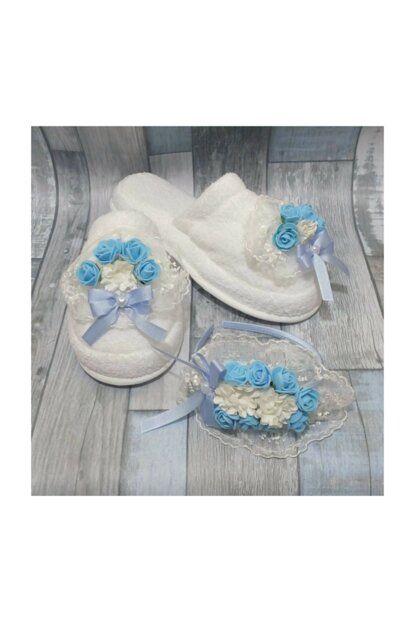 Lohusa Slippers And Crown Set Laced Blue PRA-554053-456818