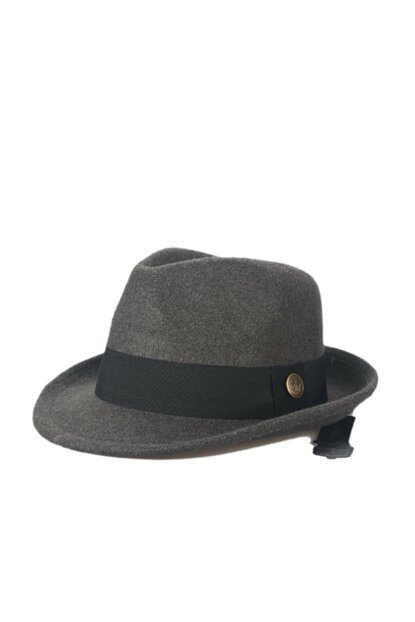 Smoked Borsalino Trilby Unisex Hat COSMOOUT5002
