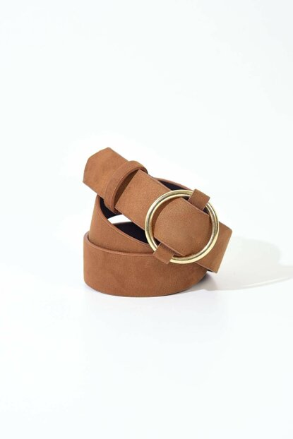 Women's Plain Nubuck Belt K360 - B13 ADX-0000020030