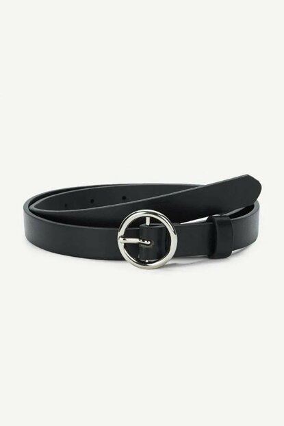 Women's Round Buckle Belt TM-1352