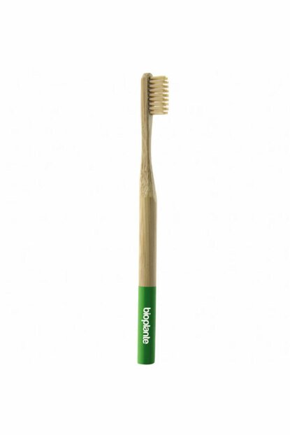 Bamboo Toothbrush Adult Green 8699237329682