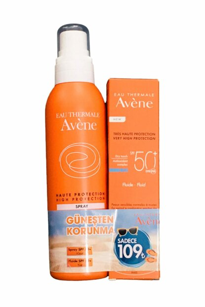 Sun Protection Set - Fluide SPF50 + 50 ml + Spray SPF30 + 200 ml 3282779100274