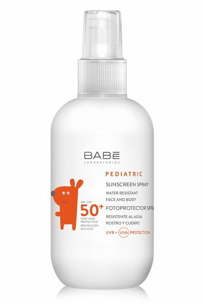 Sunscreen Spray For Baby And Child - Pediatric Sun Screen Spray 50+ 200 ml 8437011329417