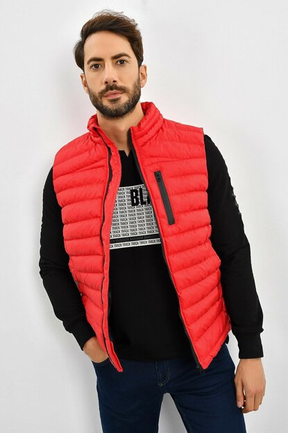 Men's Red Inflatable Vest 9KEYLTEN001