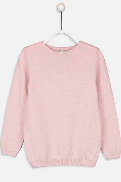 Pink Girl Pullover 9W1218Z4