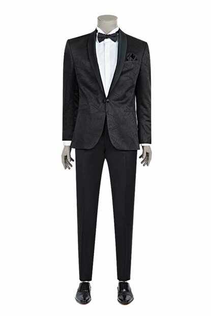 Men's Black Ceremony Suits 2DSS5BR06686_001