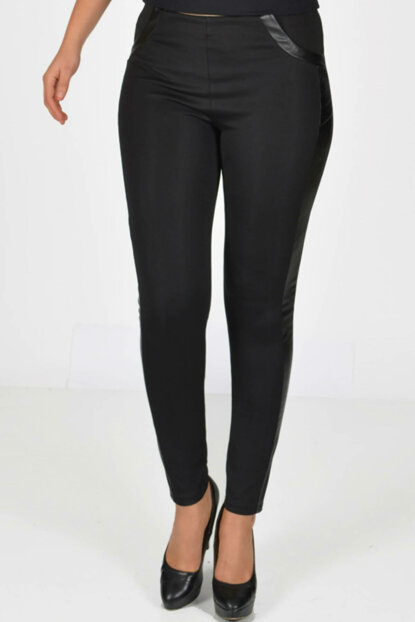 Women's Black Skinned Leggings 2052S