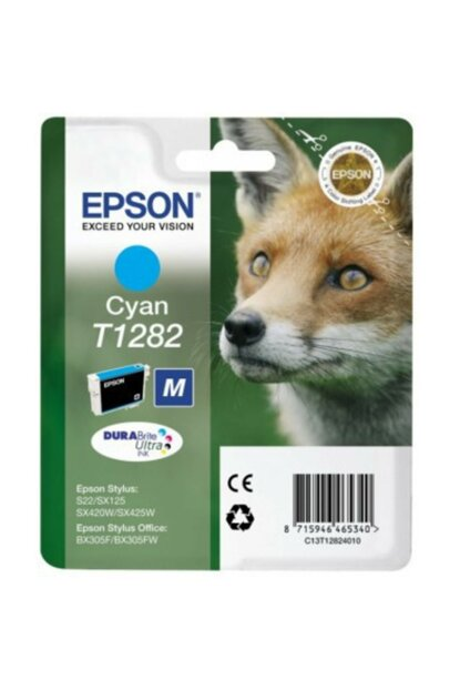 Ink Cartridge T1282 Blue for Epson T128240