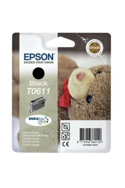 C13t06114020 (t0611) Ink Cartridge Black for Epson C13T06114020