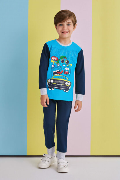 Your Rules Your Life Boys Pajama Sets 5-8 Years 10698