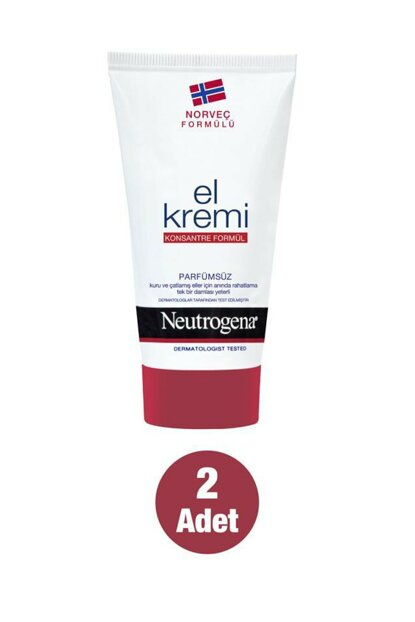 Norwegian Formula Hand Cream Without Perfume 75 ml x 2 35746611332182