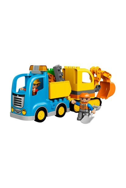 LEGO DUPLO Truck and Crawler Backhoe 10812 T01010812