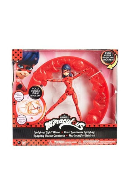 Miraculous Laydbug Ladybug And Lighted Circle Licensed Product HBV000004L0ES