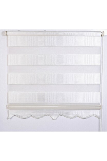 250x260 Zebra Curtain Cream Water Wave Roller All Sizes A1000789