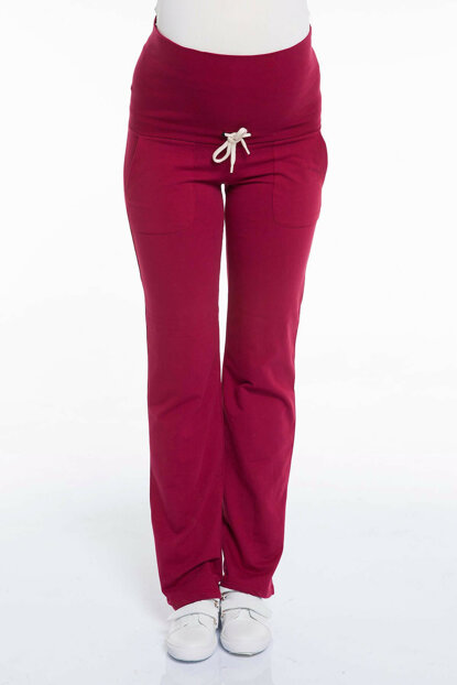 Maternity Bordeaux Trousers Bordeaux Ty3392 TY3392