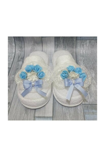 Lohusa Slipper And Crown Set Laced Blue No 37 Azb138