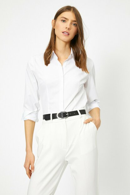 Women's White Shirt 0YAK62883YW