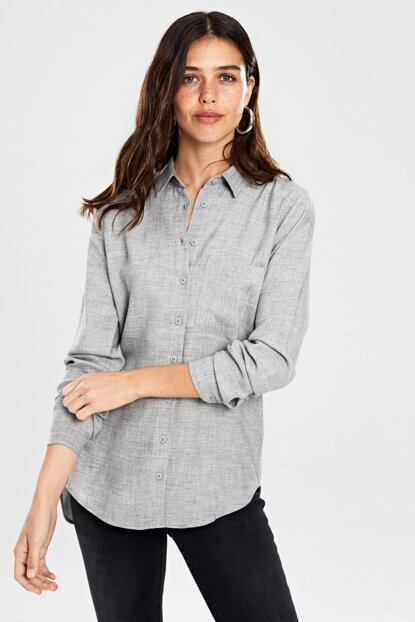 Women's Gray Shirt 9WU873Z8
