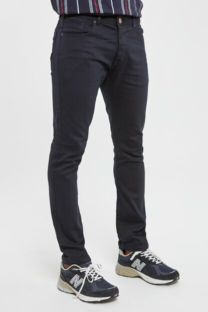 Navy Blue Men's 5 Pocket Skinny Pants TMNAW20PL0627