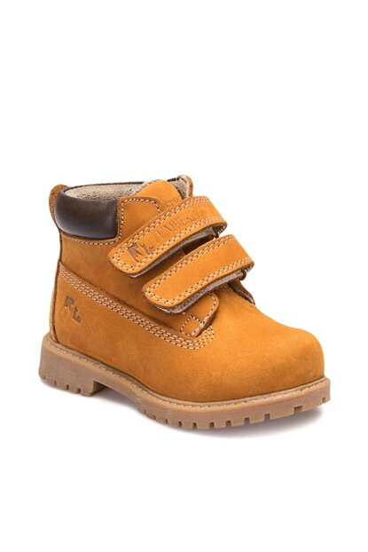 Yellow Unisex Children Boots 100227294