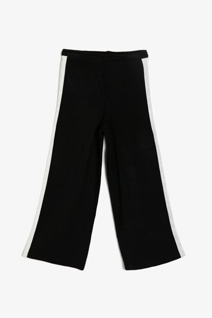 Black Girl Striped Trousers 0KKG97364HT