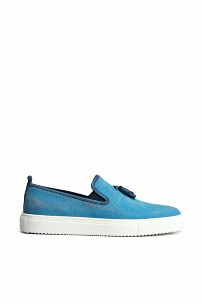 Blue Men's Shoes 02AYH138240A600