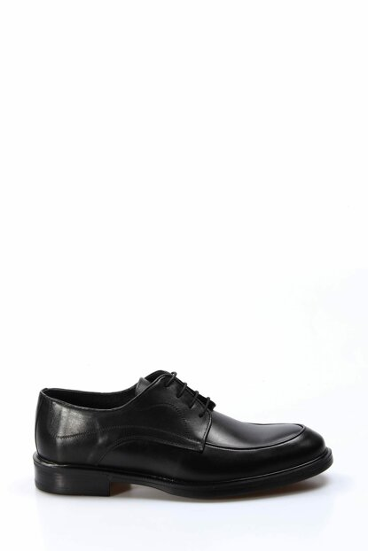 Genuine Leather Black Men Classic Shoes 2036414