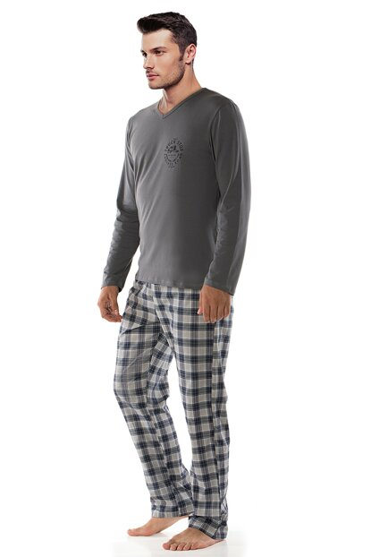 Men's Smoked Pajamas Set 002-000308