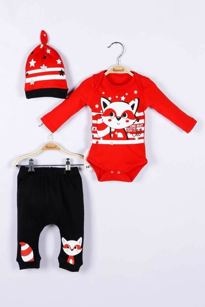 Baby Boy Badi Trousers Hat 3-Piece Set 14711 MINI14711