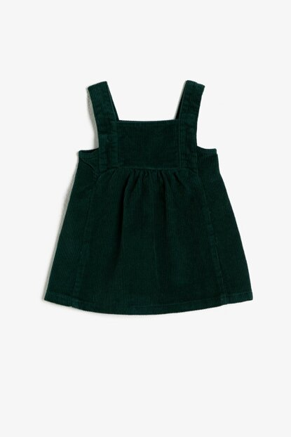Green Girl Child Suspended Dress 0KMG89060OW