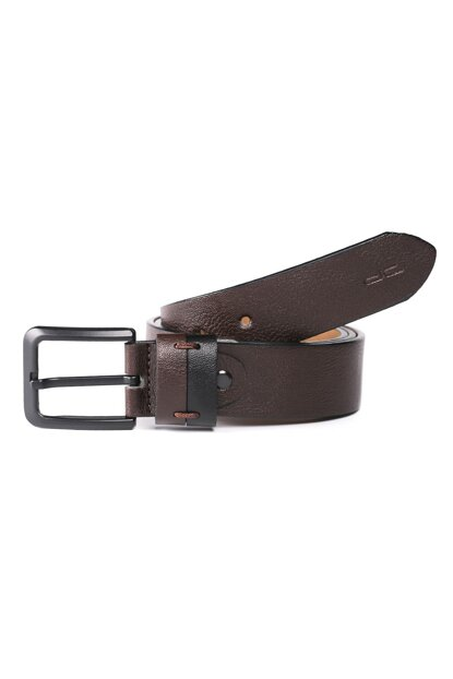 Men's Black and Brown Belt (120 KS) BD00456